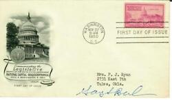 Nobel Prize In Economics Gary Becker Signed Fdc Dated 1950 Todd Mueller Coa