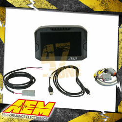 Aem Cd-7 Carbon Full-color Digital Racing Dash Displays Can Input Only 7 Screen