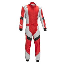 Sparco X-light Rs7 Fia Racing Suit Red Size 50