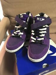 Nike Sb Dirty Money Dunk Mid Size 10 Chunky Dunky 7/11 Grateful Dead