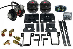 Rear Axle Level Air Tow Assist Kit For 2005-10 Ford F350 1 Ton Pick Up Over Load