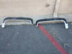 1974 Vintage Cadillac Coup Deville Fender Skirts In Good Condition