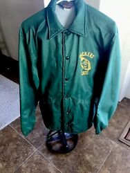 1960s Rare Vintage Lambeau Field Employee Authentic Jacket Green Bay Packers