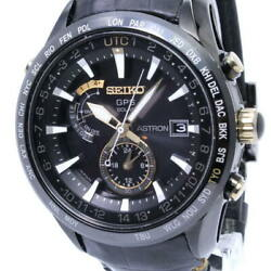 Free Shipping Pre-owned Seiko Astron Menand039s Watch Kintaro Hattori Model Limited