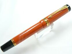 Parker Duofold Macarthur Fountain Pen Limited Edition In Box From 1995 No