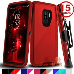 For Samsung Galaxy S9 S9 Plus Shockproof Protective Case Cover With Belt Clip $11.99