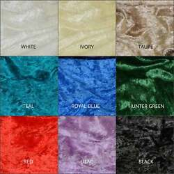 Panne Velvet Fabric Fabric By The Yard 58quot; 60quot; Upholstery FabricCraft Fabric