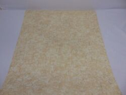Vtg Double Roll Wallpaper Antonina Vella Almond And Off White Crackle Distress