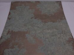 Vintage Double Roll Wallpaper York Ronald Redding Victorian Design Cracked Wall