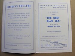1952 The Deep Blue Sea Terence Rattigan Peggy Ashcroft Kenneth More Peter Illing