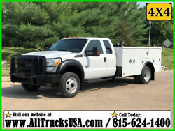 2015 FORD F550 4X4 4WD EXTENDED CAB 6.7 DIESEL 11' BED SERVICE UTILITY TRUCK