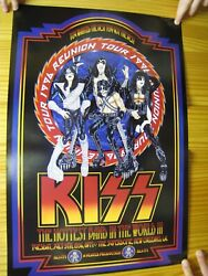 Kiss Poster 1996 Reunion Tour The Hottest Band In The World