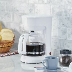 New Mainstays 12 Cup Coffee Maker. Easy To Fill. Automatic.