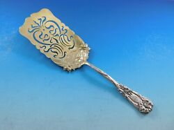 New Art By Durgin Sterling Silver Croquette Server Gw Narcissus Daffodils 8 1/4