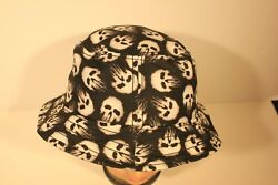 MARVEL THE PUNISHER BLACK BUCKET HAT WITH SKULLS KIDS SIZE NEW $12.99