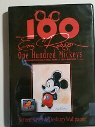 Eric Robison 100 One Hundred Mickey Mouse Screen Saver Wallpaper 100th Birthday
