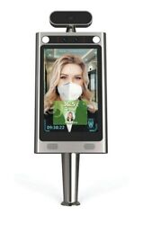 Contactless Thermometer With Face Recognition And Floor Stand