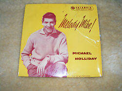 Michael Holliday Melody Mike Ep Original 1958 7 Vinyl / The Story Of My Life