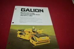 Galion Vos 2-66a Articulated Double Drum Vibratory Roller Brochure Dcpa13