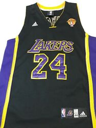 Kobe Bryant Authentic Adidas Los Angeles Lakers The Finals Jersey Men's Size 44