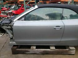 10-17 Audi A5 Convertible Front Left Door Shell Gray Ly7g Oem 8f0831051a