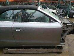 10-17 Audi A5 Convertible Front Right Door Shell Gray Ly7g Oem 8f0831052a