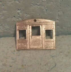Walthers O-scale/gauge 2- Or 3-rail Heavyweight Open Platform Observation End