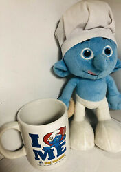 The Smurfs Jakks Package Is Chef 10 Plush 2013 And I Love Me Coffee Cup 2010