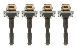 Bosch Ignition Coil Kit Set Of 4 For Bmw E30 318i 1991-1992 318is 1991-1994
