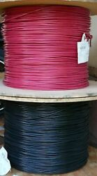 8 Awg Tinned 100 Copper Marine Wire Battery Boat Cable 30 Ft Red And 30 Ft Black