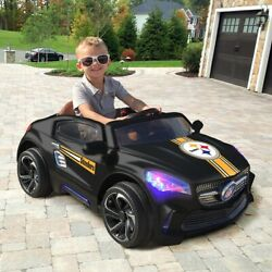 Pittsburgh Steelers Ride On Ultimate Sports Car With Remote Control And Radio Kids