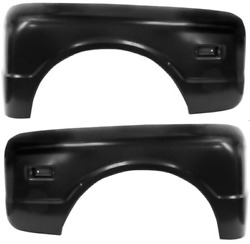 68-72 Chevy/gmc Truck Lh And Rh Stepside Rear Fenders Driver/passenger Side