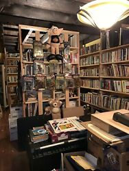 Huge Book Collection And Antique Maps And Paintings For Sale !!!!