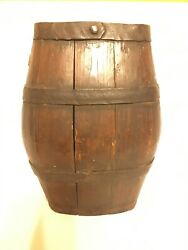 18th Century Antique Wooden Canteen