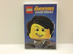 LEGO: The Adventures of Clutch Powers DVD 2015 $5.03