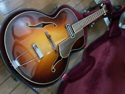Eastman Ar-605e Classic Sb Acoustic Guitar With Hard Case Shipped From Japan