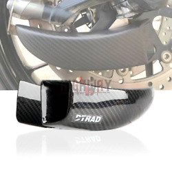 Motorcycle Black Carbon Fiber Air Duct Brake Cooling Mounting For Benelli 502c