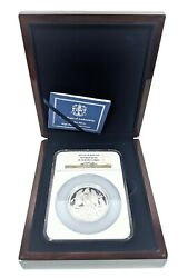 2013 Isle Of Man 5oz Angel High Relief Silver Ngc Pf70 Ultra Cameo Rare And Case