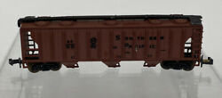 Aurora Postage Stamp Trains 4869 N Scale Southern Pacific Covered Hopper Car