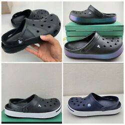 BRAND NEW Crocs Ralen Black Clog Unisex Men Women $37.99