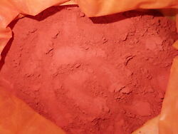 Powdered Cinnabar Crystal Native Pigment Material 10 Kg Lot