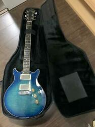Rare Greco Mrn-150 Cave Blue Electric Guitar W/ Case Shipped From Japan