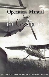 Cessna Airplane Information Ownerand039s Manual Poh - 120-140