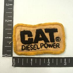 Vtg Zoom In-most Unusual Embroidery Or Cat Caterpillar Advertising Patch S07g