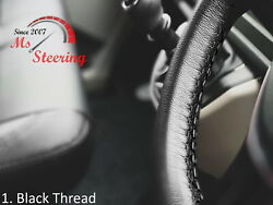 For Autocar Expert -black Steering Wheel Cover Diff Stitch