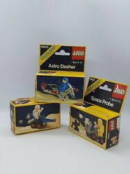 Mint Sealed In Box Lego Sets 6802 6804 6805 From 1984