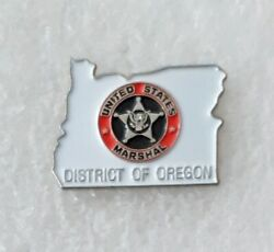 United States Marshal Service District Of Oregon Area Lapel Pin Badge