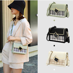 Women Small Box Satchel Purse Shoulder Crossbody Handbag Magnetic Buckle Bag New $9.99