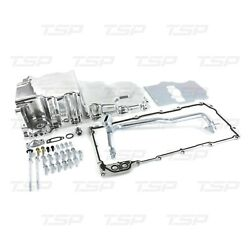 Gm Ls 4.8 5.3 6.0 Polished Retrofit Engine Oil Pan Swap Aluminum Rear Sump Low