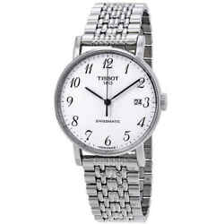 Tissot Everytime Swissmatic Automatic White Dial Menand039s Watch T109.407.11.032.00